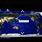 成田から、アメリカ国内の空港を経由して約12時間の空の旅でした。