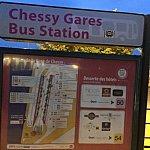 Marne La Valle-Chessy(マルヌ・ラ・ヴァレ=シェシー)駅のバス案内ボードです!