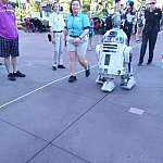 Star Wars:A Galaxy Far, Far Away:退場するR2-D2