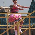ダンサーさんもジャンプが見ごたえあります