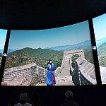 万里の長城をパノラマで楽しめます