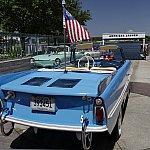 水上オープンカー