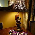 アウラニと言えば、このライト!どの客室にも置いてあり、お店で250ドルでお店で販売されています。
