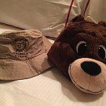 グリズリーガルチの帽子2種!左の帽子はアニマルキングダムで被る予定!笑