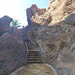この階段を上ってスタート地点へ