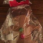 帰りにジンジャークッキーをサンタグーフィーより手渡しされました🎅