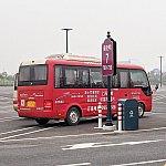 主に運行していたのはこちらの小さめのバス。