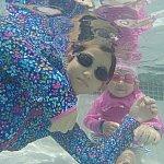 水中の写真も