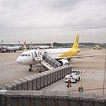 白×黄色の可愛い機体。