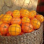 美味しそうなオレンジも!