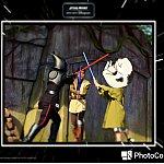 フォトパス対応なので、撮影してもらった写真には、色々とフレーム加工してくれてあります。嬉しい対応です!