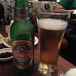 香港だけど青島ビール。70HKD。