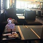 JAL成田ファーストクラスラウンジでお寿司食べれます。マッサージも予約出来ます!