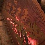 暖炉です。シルエットがかわいいですね〜