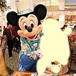 ケーキカットの時のミッキー♡優しい子でした。