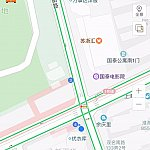 """旧フランス租界のど真ん中!淮海中路と茂名南路の交差点にあります。""""优衣库""""がユニクロです!"""
