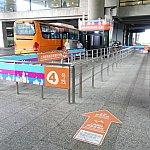上海浦東空港のディズニーリゾート行きバス乗り場