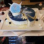 エルサのケーキ