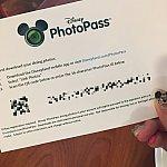 キャラダイではフォトパスプラスを購入してある事を伝えるとこの紙をくれるので、QRコードかIDでダウンロードします♪