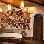 1階のレストラン「Sanaa」