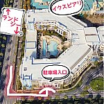 駐車場への行き方(ランド、東京方面から)