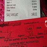 往復チケット&代金