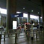 早朝着だったのでタクシー乗り場に人がほとんどいませんでした。
