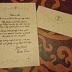 テーブルの上にはティアナからの手紙が!!