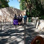 小さなブースがダイニングパッケージ購入ゲスト様に用意されていました。実際のダイニングパッケージ専用入口もこちらです。
