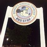ベイレイク宿泊時はコンテンポラリーリゾートまで歩くとバス停がありました!
