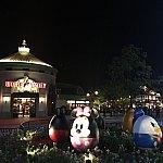 イベント前夜にディズニータウンで撮影。この時はパーク内でのイベントがあるとは知らなかった😓