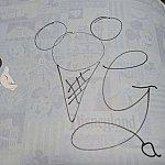 ジェラトーニのサイン。ちゃんとジェラートを書いてくれました!
