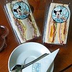 サンドイッチとティラミス