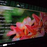 お部屋のTVも日本語対応。画面下に私の名前も入っていてちょっと感動しました。