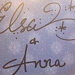 エルサとアナに書いてもらったサイン☆