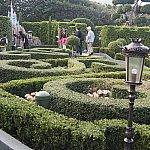 ヨーロッパのお庭そのものです
