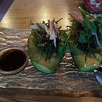 ハワイ産アボガドとみょうがのサラダ