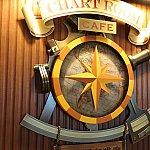 Chart Room Cafeの看板
