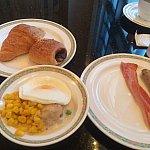 朝食付 ハイピリオンラウンジにて♥️
