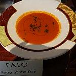 温かいお料理の見本(本日のスープ)