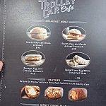 トロリーカー・カフェのフードメニュー
