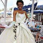 初ティアナ!ドレスが凝っててとても可愛い。
