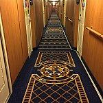 客室前の廊下です!