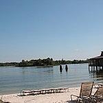 水上Eパレはこの浜からよく見えます!