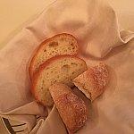 パンは温めてはいません!