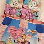 超可愛いタオルセットと鞄は自分のお土産に・・・💓鞄とっても可愛いくてどうしよう、いつ使おう・・・!笑 香港はダッフィーグッズがとにかく豊富でした!