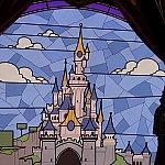 眠れる森の美女の城(パリVer.)