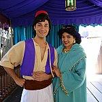 アラジン&ジャスミンはアドベンチャーランドにて!運が良いとジーニーとトリプルグリの時もありました!