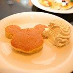 朝と昼だけのメニューミッキーのパンケーキ