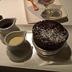 チョコレートスフレ。これを食べずには帰れない!